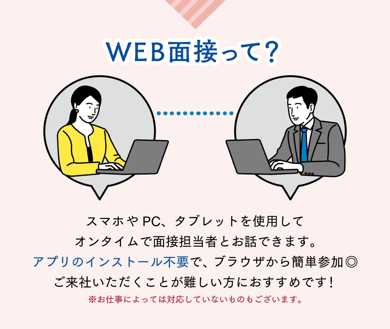WEB面接って?